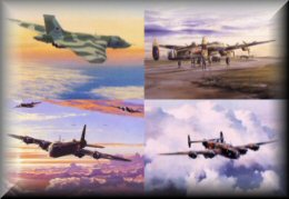 RAF Bombers - Aviation Art Prints