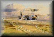 Canberra RAF Aircraft Art