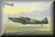 WW2 RAF Aviation Art - Defiant
