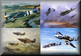 RAF Fighters - Aviation Art Prints
