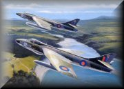 Hawker Hunter Aircraft Art Prints