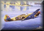 RAF P40 Kittyhawk Art