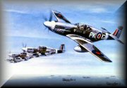 Royal Air Force Mustang Prints