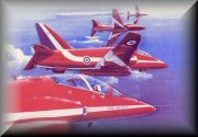 Red Arrows Aviation Prints