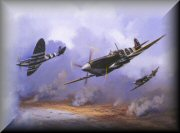 Spitfire Aviation Art