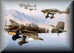 Ju88 Stuka Aviation Art Prints