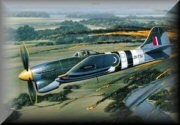 Hawker Tempest Aviation Art
